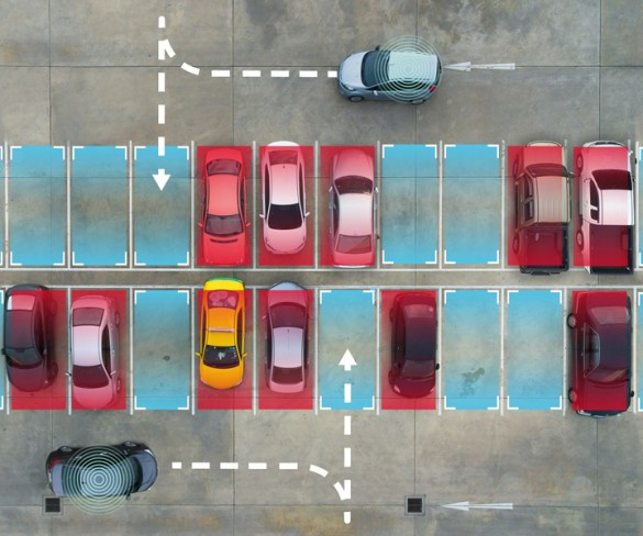 'Smartest' car park manages and finds spaces