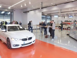 The new auction lane complex at BCA Nottingham will enable additional sale events and specialist auctions.