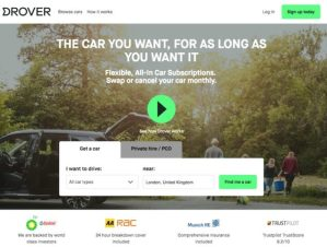 The BMW Group UK partnership with Drover enables drivers to access BMW and MINI vehicles on a flexible, monthly all-in subscription basis.