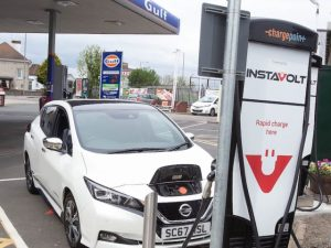 Certas Energy is installing two 50kw charging stations on most Gulf sites