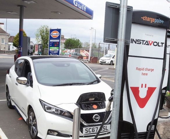 Gulf forecourts get rapid chargers