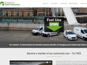 The new DfBB website brings resources for business just starting out in fleet risk management and more experienced professionals