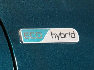 Kia Eco Hybrid Badge