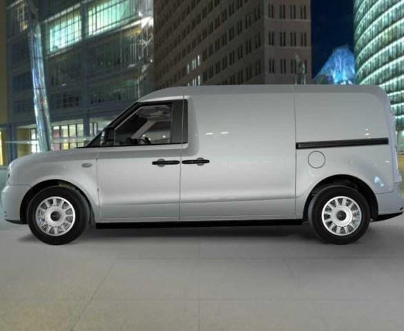 LEVC range-extended electric van to help clean up fleet sector