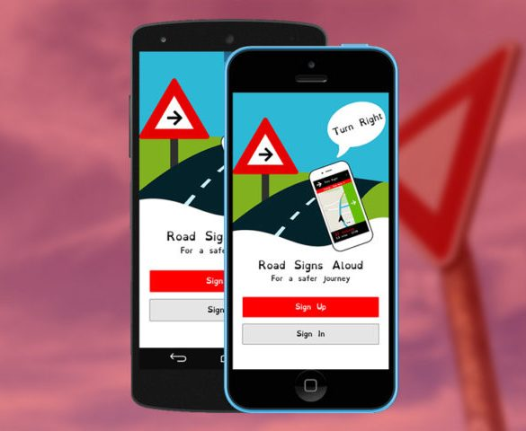 New app reads road signs for dyslexic drivers