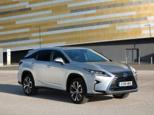 The RX 450hL marks Lexus's entrance in the UK's seven-seat SUV market