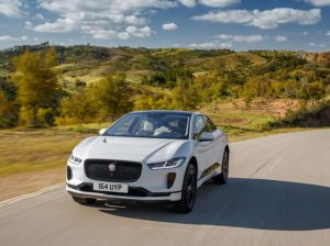 Pod Point's agreement comes as Jaguar launches its first electric car