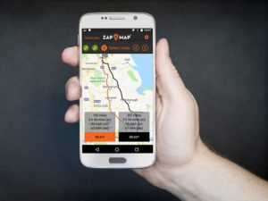 Zap-Map's app updates now offers a 'quick plan', suggesting rapid chargers within a mile of a chosen route