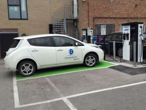 eVolt has already deployed two chargers in the Adam and Eve car park in Cambridge