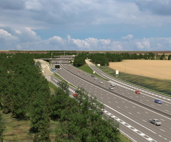 Fleets get chance to see M4 smart motorway plans