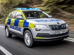 Skoda Karoq police vehicle