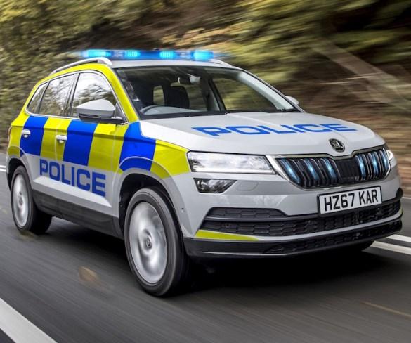 Rapid response Karoq joins Škoda blue light fleet