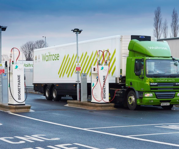 CNG Fuels and Waitrose collaborate on renewable biomethane