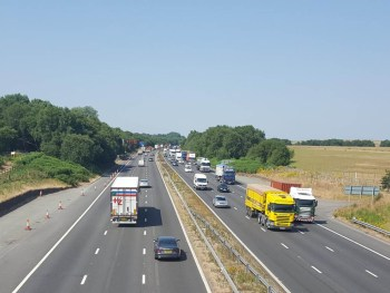 The M62 is the latest motorway to receive the 'smart' treatment