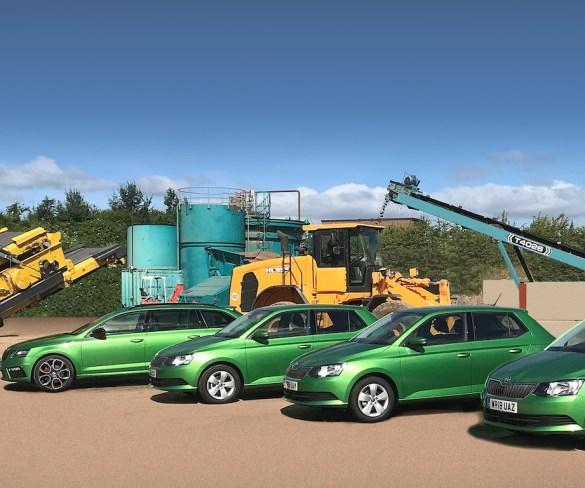 Utilities firm drives brand image with Škoda fleet