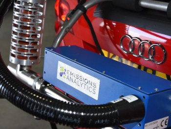 Emissions Analytics PEMS equipment
