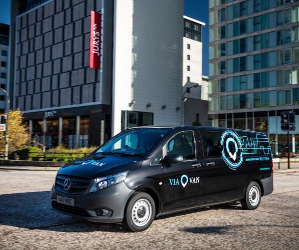 ViaVan on-demand ridesharing to launch in Milton Keynes