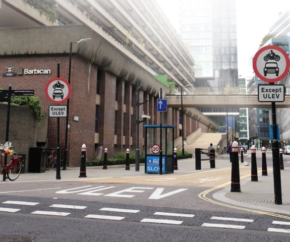 City of London to get first ULEV-only zone