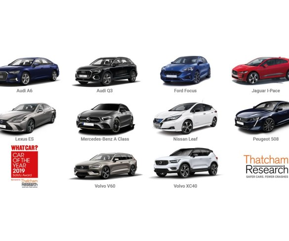 Thatcham Research reveals 10 safest new cars