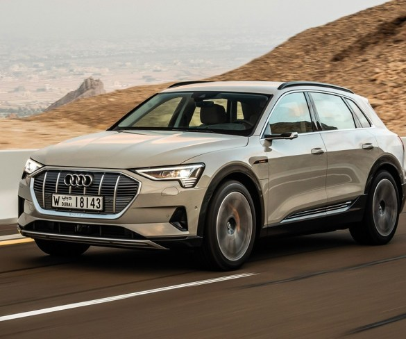 First Drive: Audi E-Tron