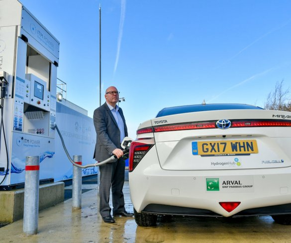 Arval to showcase hydrogen benefits for fleets