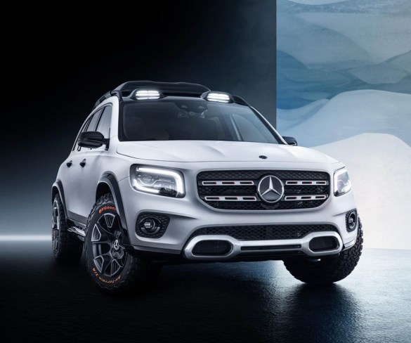 Mercedes-Benz shows seven-seat SUV concept in Shanghai