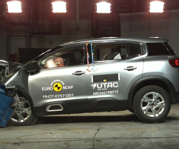 New Range Rover Evoque scores five-star Euro NCAP rating