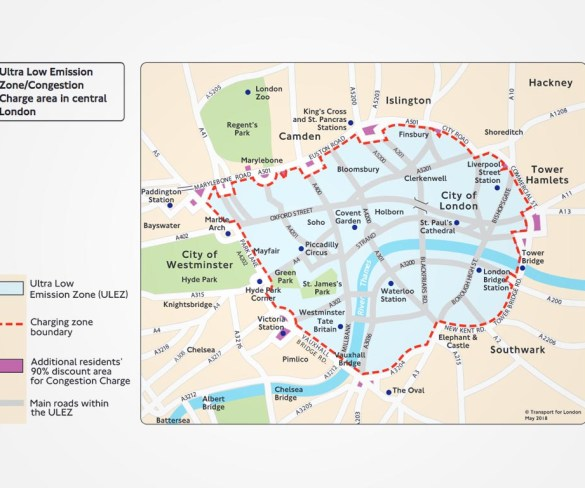 London's new pollution charge begins