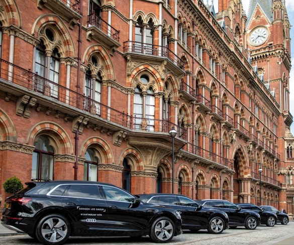Addison Lee deploys Audi e-trons on path to 100% low-emissions fleet