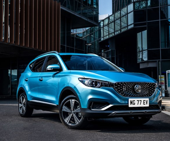 MG opens order books for ZS EV