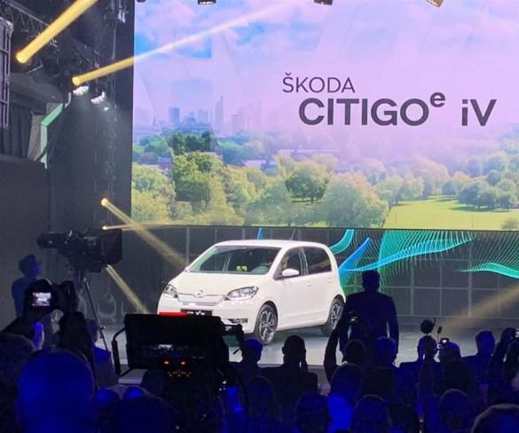Citigo e iV is revealed as Škoda's first all-electric car