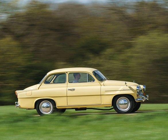 Celebrating 60 years of the Škoda Octavia