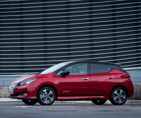 Nissan highlights BiK savings on electric cars