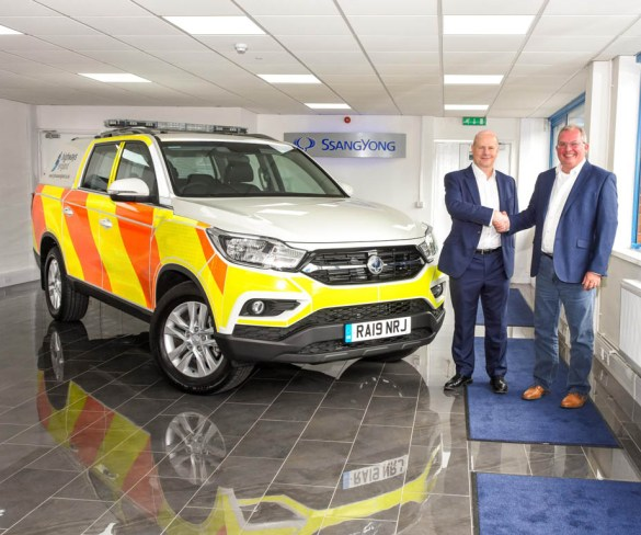 SsangYong supply Highways England with 32 Musso