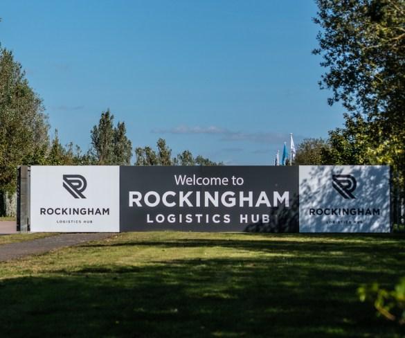 Rockingham transforms into 'game-changing' Automotive Logistics Hub