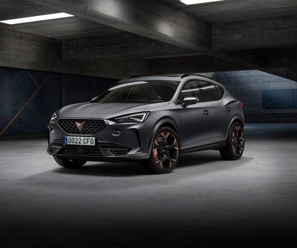 Cupra Formentor sets benchmark for performance plug-in hybrid SUVs