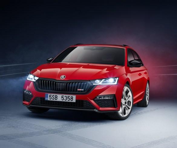 Škoda reveals sportiest Octavia versions