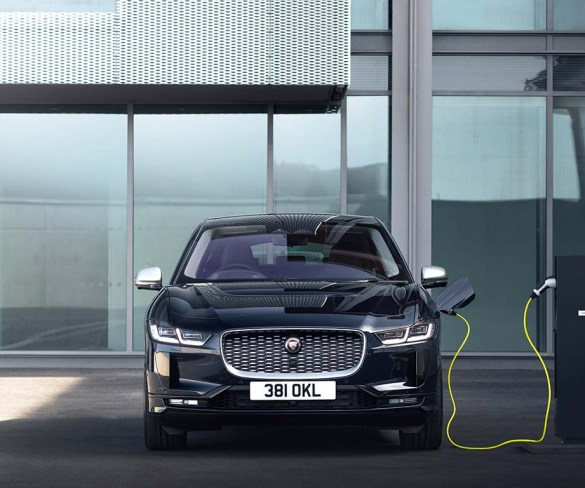 Jaguar I-Pace updated with new three-phase charging