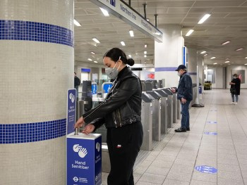 In addition to wearing a face covering, people who have no choice but to use public transport should avoid the busiest times and locations. The busiest times on the network are between 05:45-08:15 and 16:00-17:30