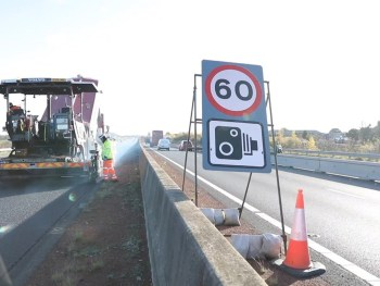 60mph was found to be safer than 50mph at motorway road work sites, while also retaining more compliance and reducing journey times