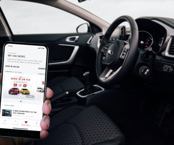 MyKia app launches with range of services for Kia drivers