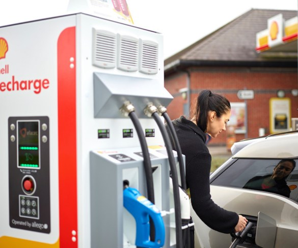Shell powers up fuel card offering with EV charging solutions