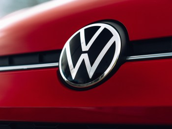 New Volkswagen badge is also applied to the range