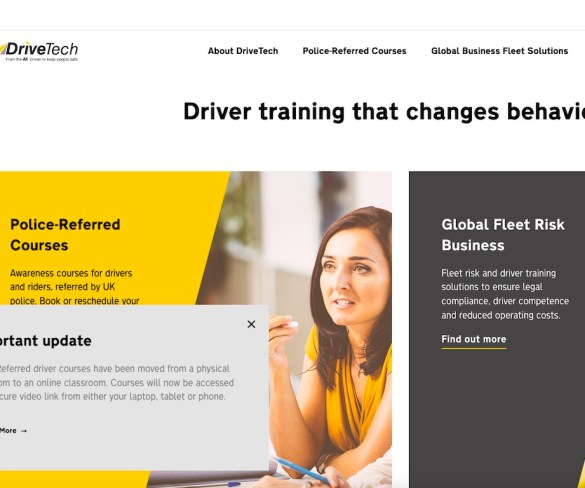 DriveTech promotes global driver risk focus with redesigned website