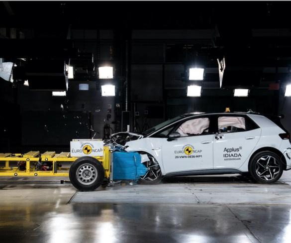 Volkswagen ID.3 gets top Euro NCAP score