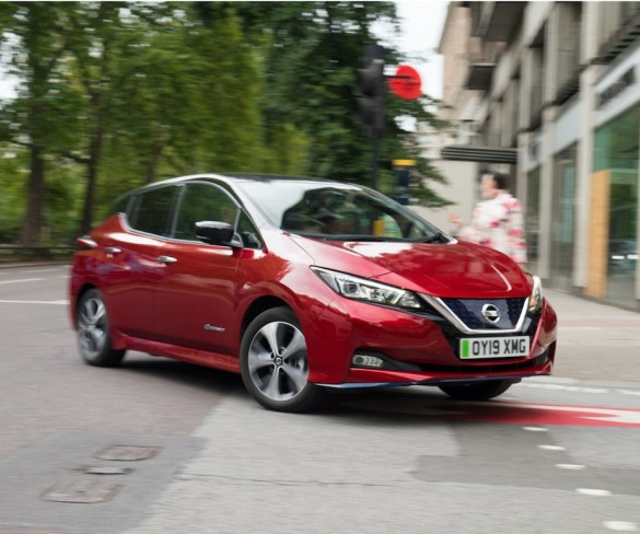 Increased fleet demand in Nissan Leaf drives used values