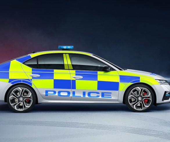 Škoda Octavia vRS conversion now available for police fleets