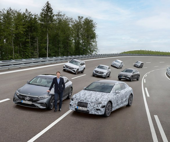 Mercedes-Benz plans to go all-electric by 2030