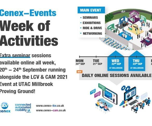 Still time to register for Cenex 2021 eco and mobility events