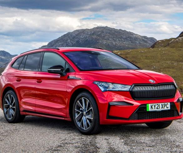 Škoda adds flagship all-wheel drive 80x SportLine model to Enyaq iV range
